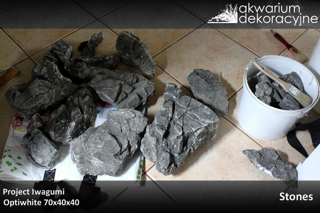 zakładanie akwarium naturalne iwagumi optiwhite elos ada manten stones 1